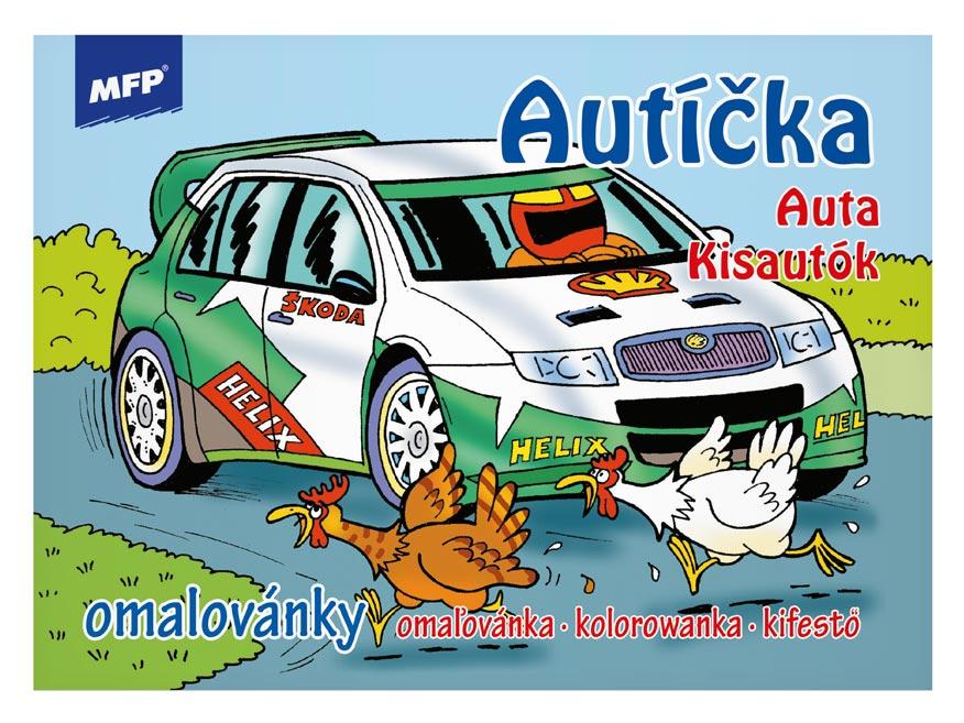 Omaľovánky MFP Autíčka
