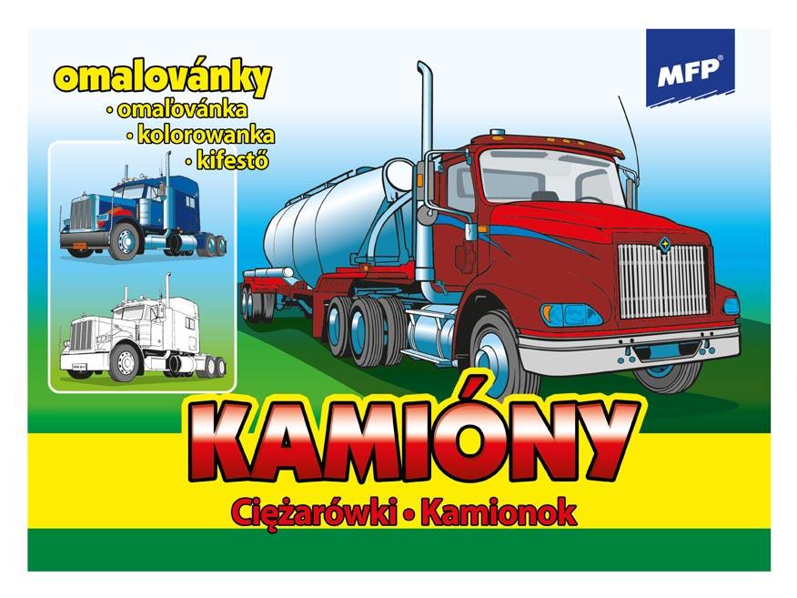 Omaľovánky MFP Kamióny