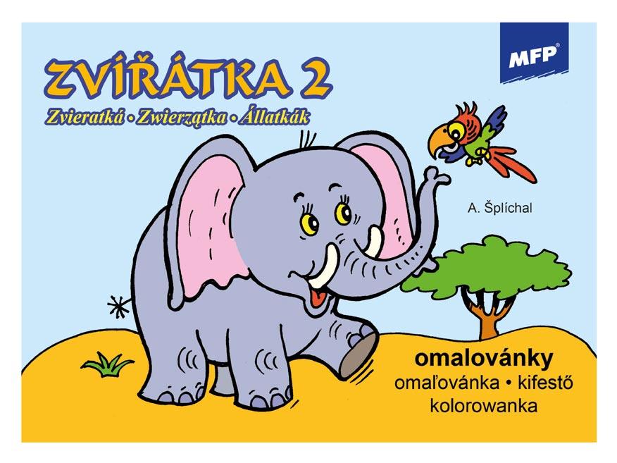 Omaľovánky MFP Zvieratká 2