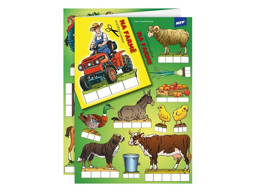 vystrihovačky Na farme 5300357