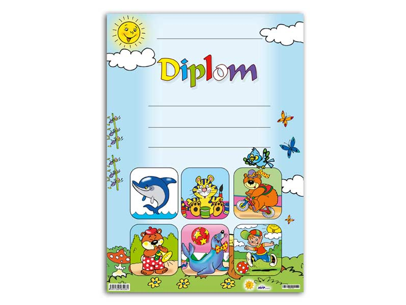 Diplom detský A4 MFP DIP04-001
