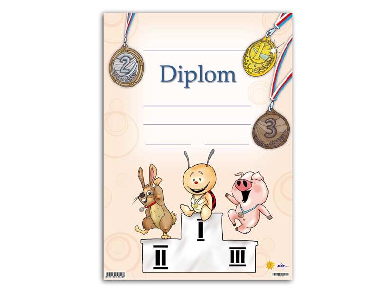 Diplom detský A4 MFP DIP04-004