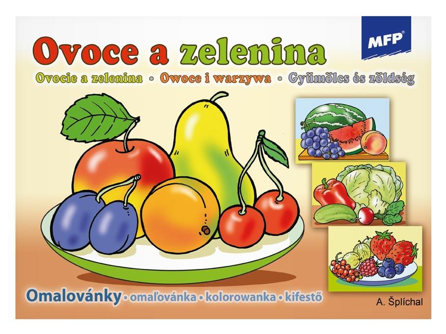 omaľovánky Ovocie a zelenina 5300452