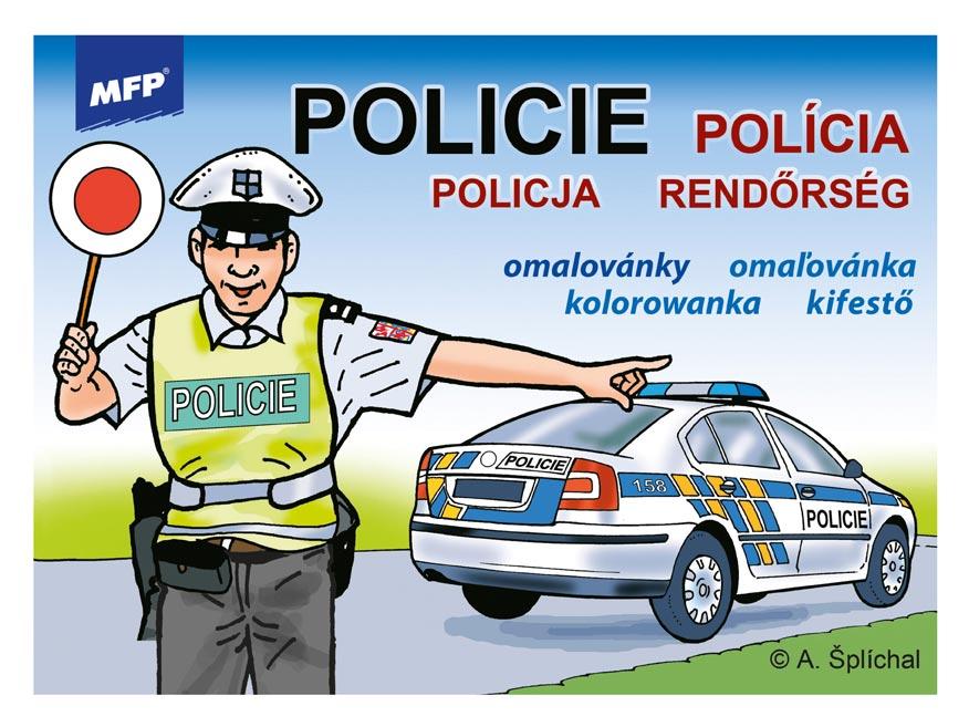 Omaľovánky MFP Polícia