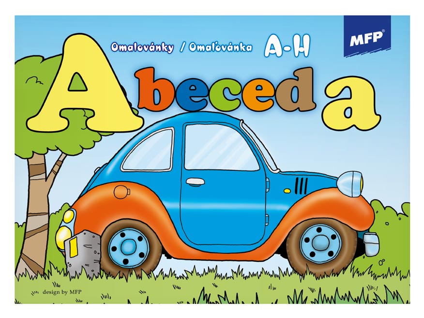 omaľovánky Abeceda 5300461