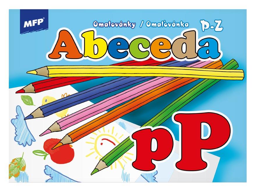 Omaľovánky MFP Abeceda 3