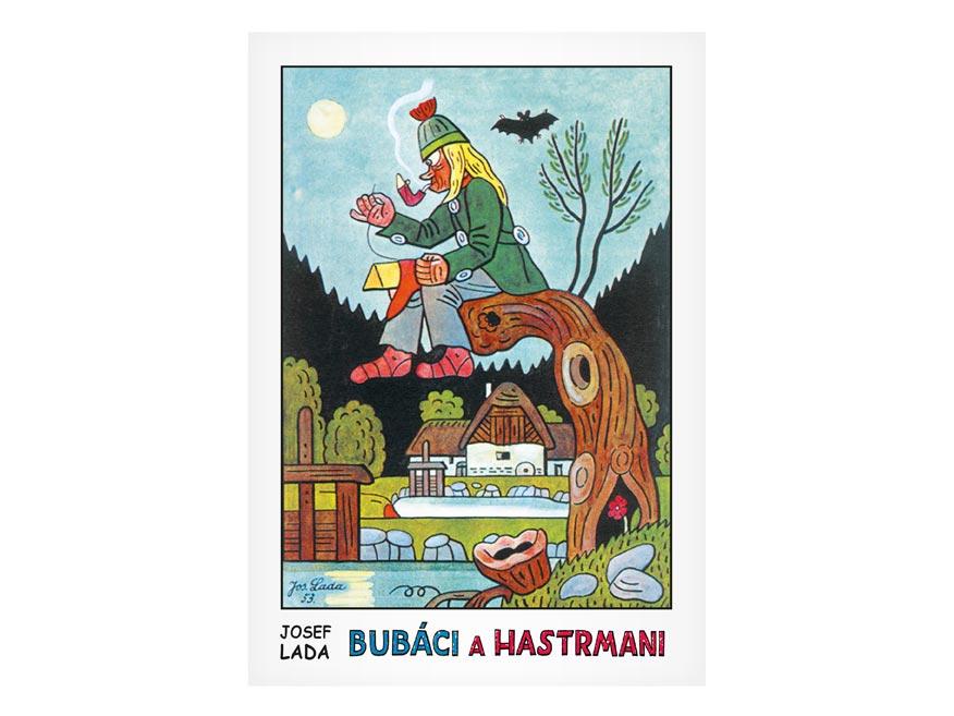 Omaľovánky MFP Lada - Bubáci a hastrmani
