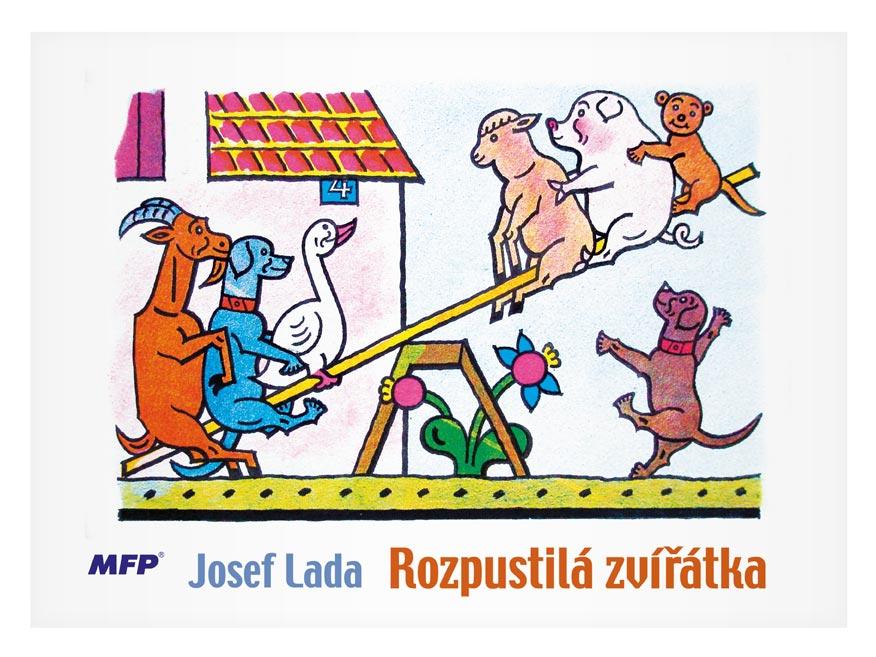 Omaľovánky MFP Lada - Rozpustilá zvieratká