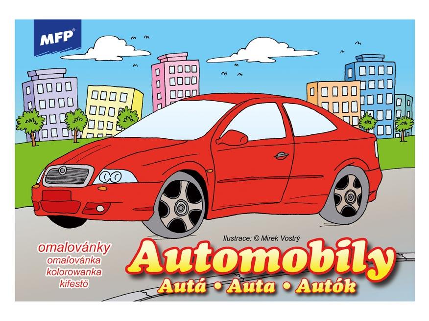 omaľovánky A4 Automobily 5300560