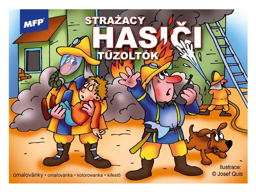 Omaľovánky MFP Hasiči