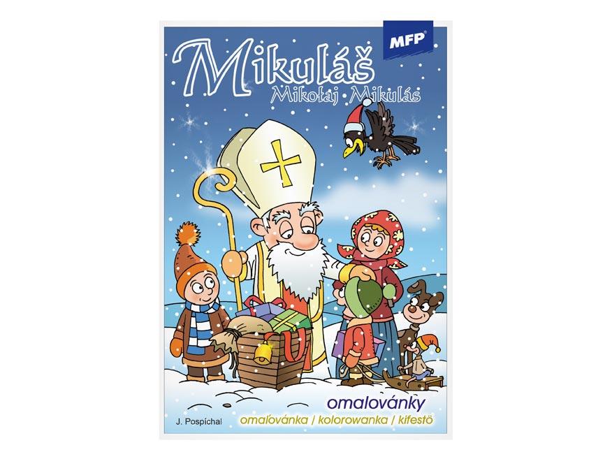 omaľovánky Mikuláš 5300571