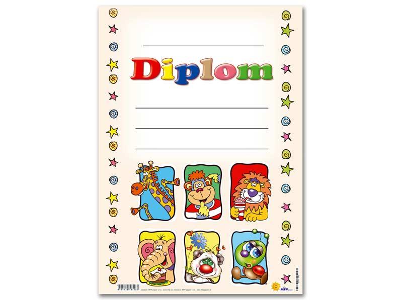 Diplom detský A4 MFP DIP04- 008
