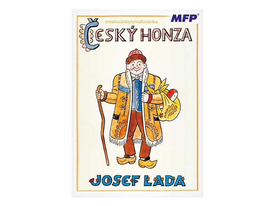 Omaľovánky MFP Lada - český Jano