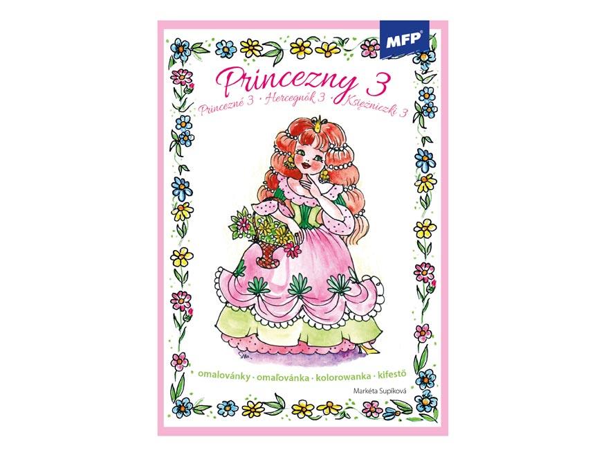 omaľovánky Princezné 5300606