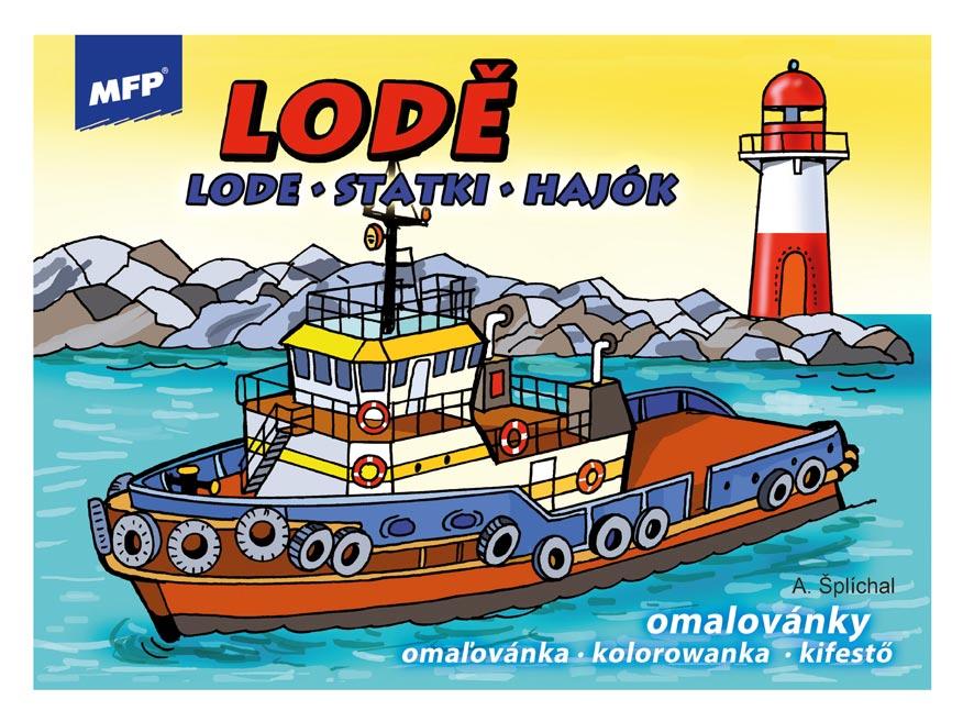Omaľovánky MFP Lode