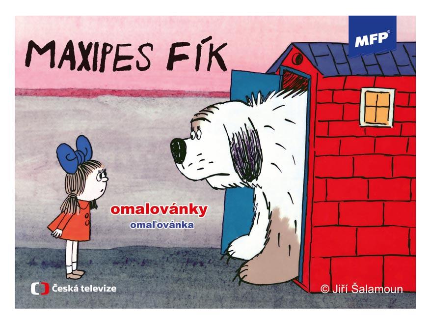 Omaľovánky MFP Maxipes Fík