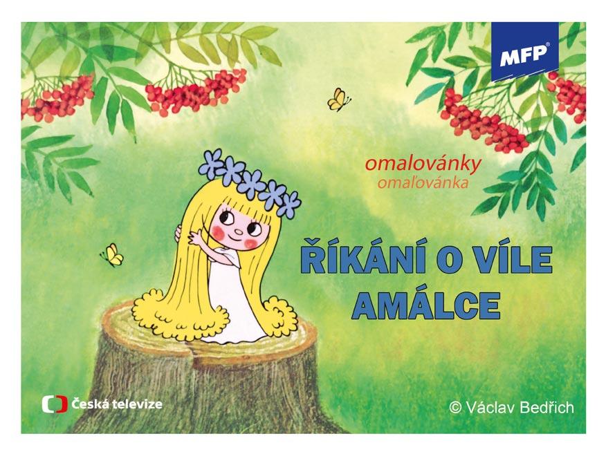 Omaľovánky MFP Víla Amálka