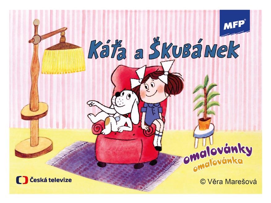 Omaľovánky MFP Káťa a Škubánek