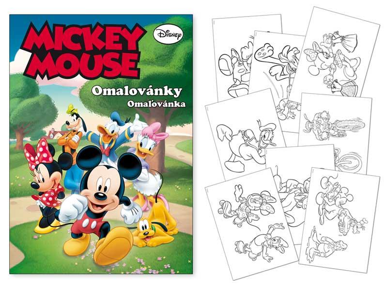 Omaľovánky MFP A4 Disney (Mickey)