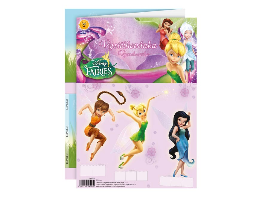 vystrihovačky Disney (Fairies) 5300753
