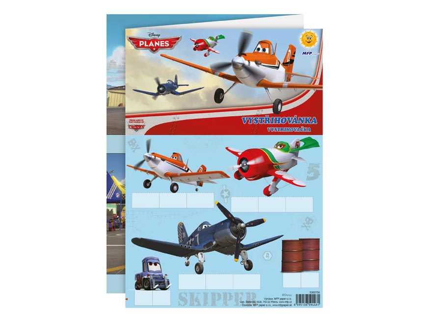 Vystrihovačky MFP Disney (Planes)
