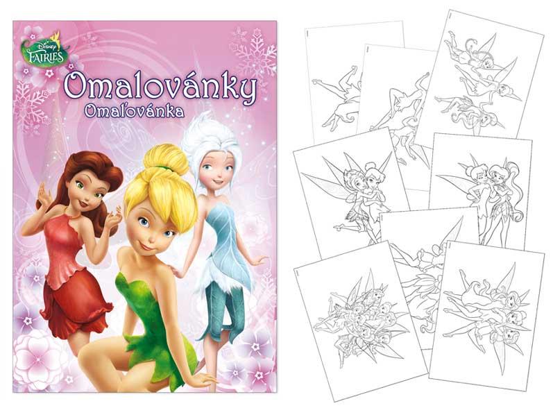omaľovánky A4 Disney (Fairies) 5300759