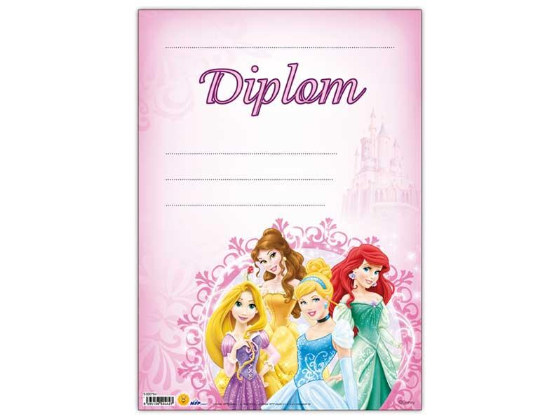 Diplom detský A4 MFP DIP04- Y03 Disney (Princess)