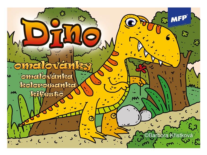 Omaľovánky MFP Dino