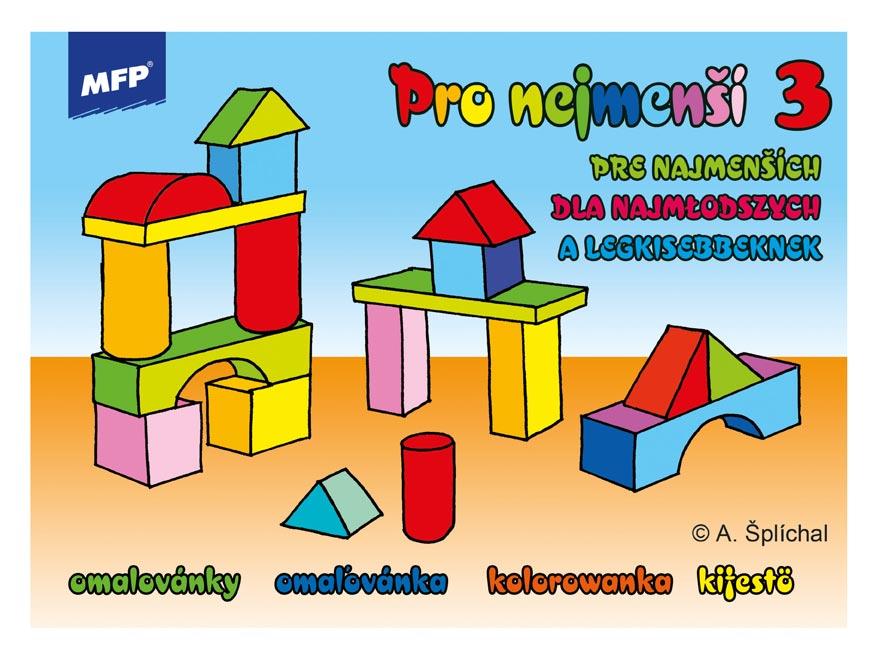 MFP 5300806 Omaľovánky Pre najmenších 3