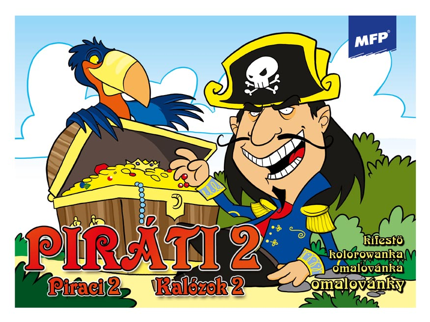 Omaľovánky MFP Piráti 2