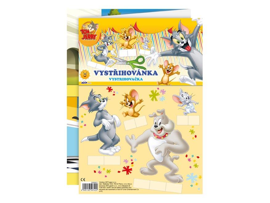 Vystrihovačky MFP WB (Tom a Jerry)