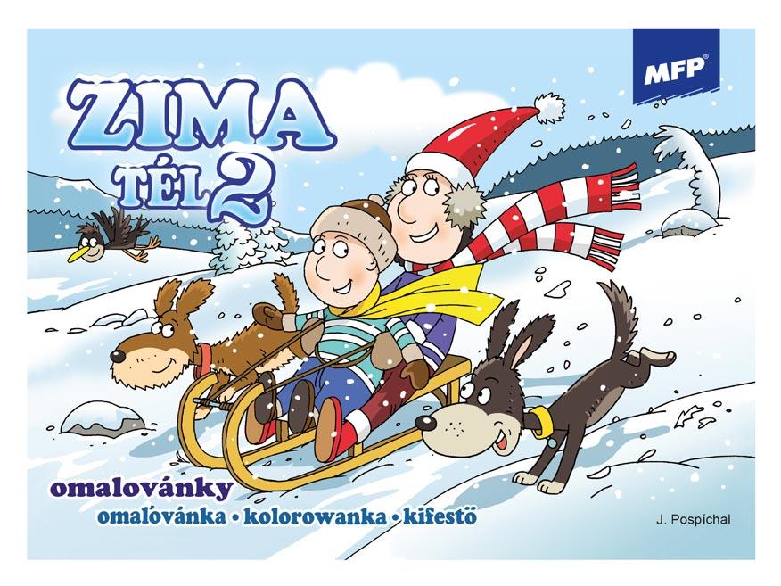 Omaľovánky MFP Zima 2