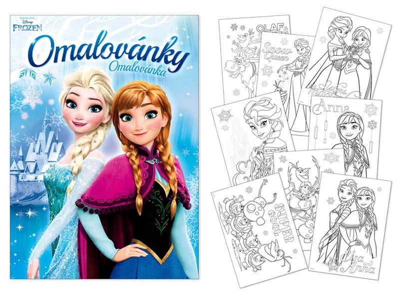 Omaľovánky MFP A4 Disney (Frozen)