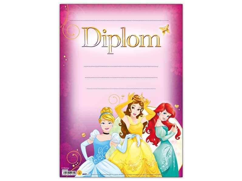 Diplom detský A4 MFP DIP04- Y09 Disney (Princess)