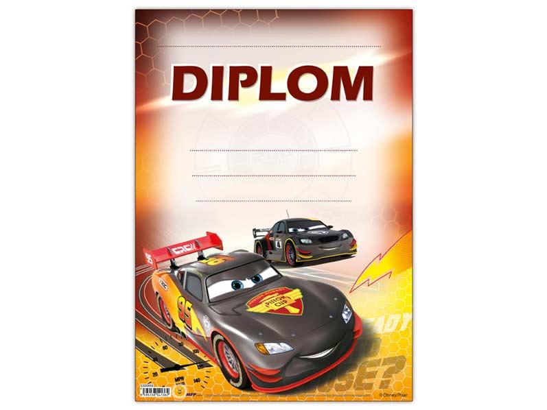 Diplom detský A4 MFP DIP04- Y10 Disney (Cars)