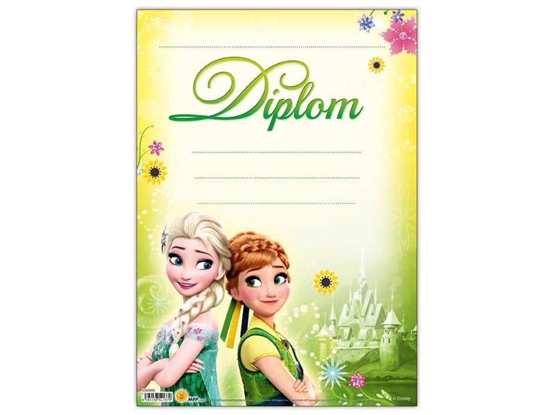 Diplom detský A4 MFP DIP04- Y11 Disney (Frozen)