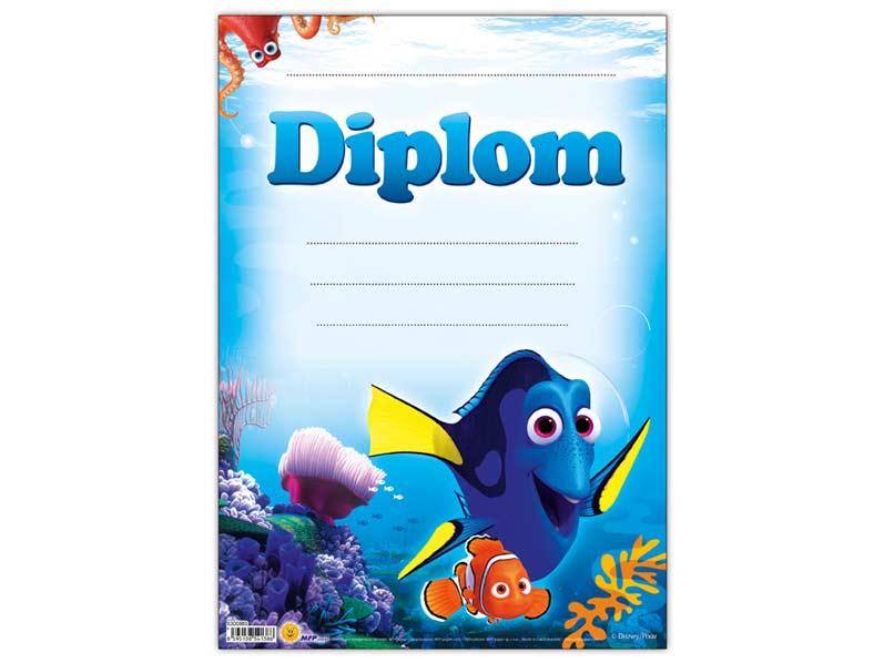 Diplom detský A4 MFP DIP04- Y12 Disney (Hľadá sa Dory)