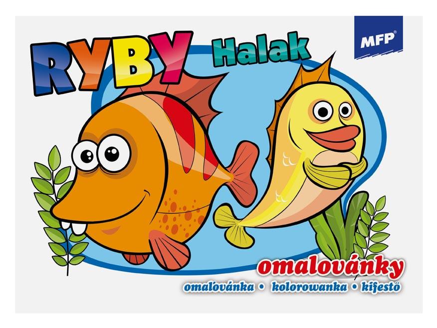 Omaľovánky MFP Ryby