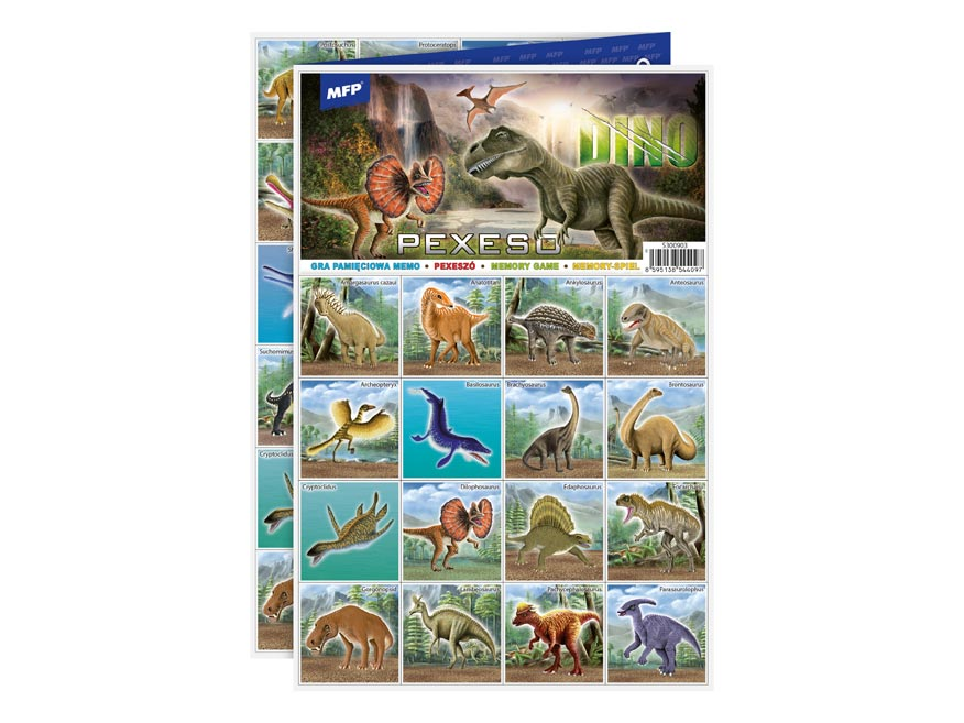 pexeso 3xA4 Dino 5300903