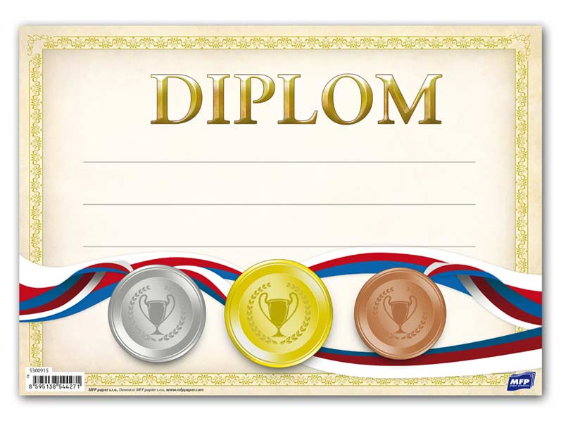 Diplom detský A5 MFP DIP05- 008