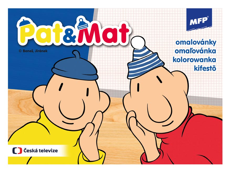 Omaľovanky MFP Pat a Mat