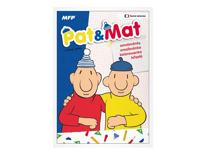 MFP 5300921 omaľovánky A4 Pat a Mat
