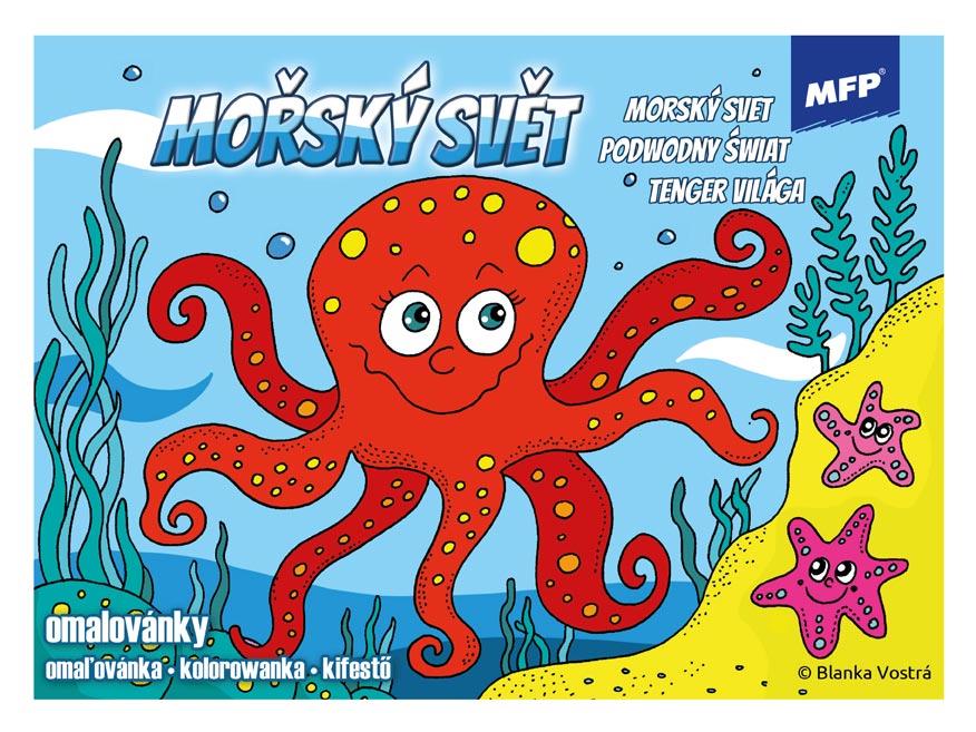 omaľovánky Morský svet 5300939