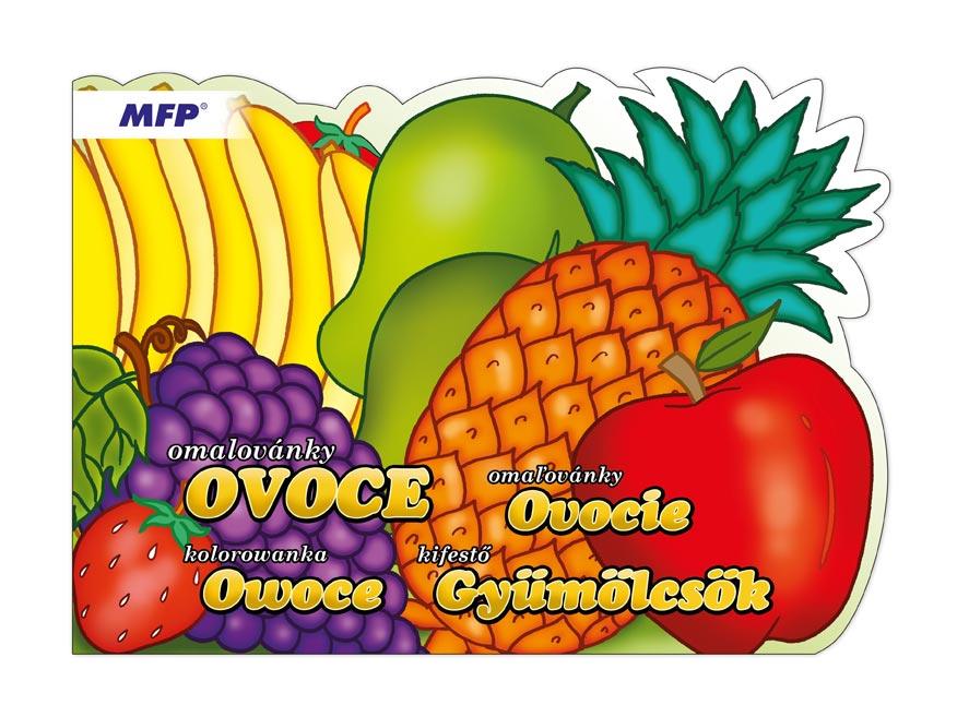 Omaľovánky MFP A4 výsek ovocie 208x290/16s