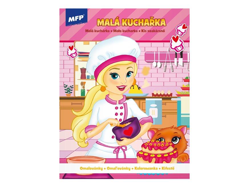 omaľovánky A4 Miss Chef 1 210x276/32 5300998