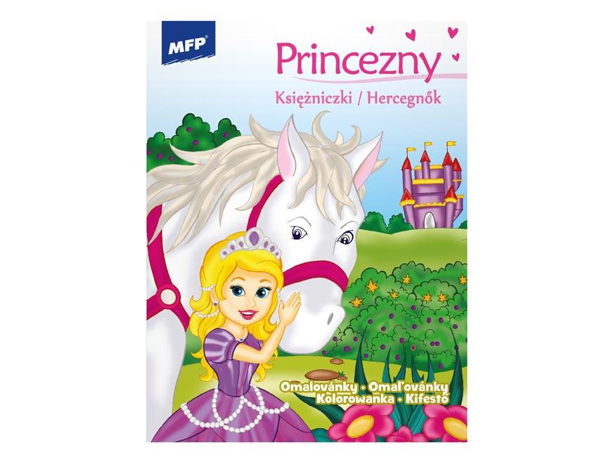 omaľovánky A4 Princess 16 210x276/32 5301002
