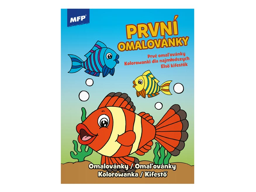omaľovánky A4 Junior Coloring Book 3 210x276/32 5301007