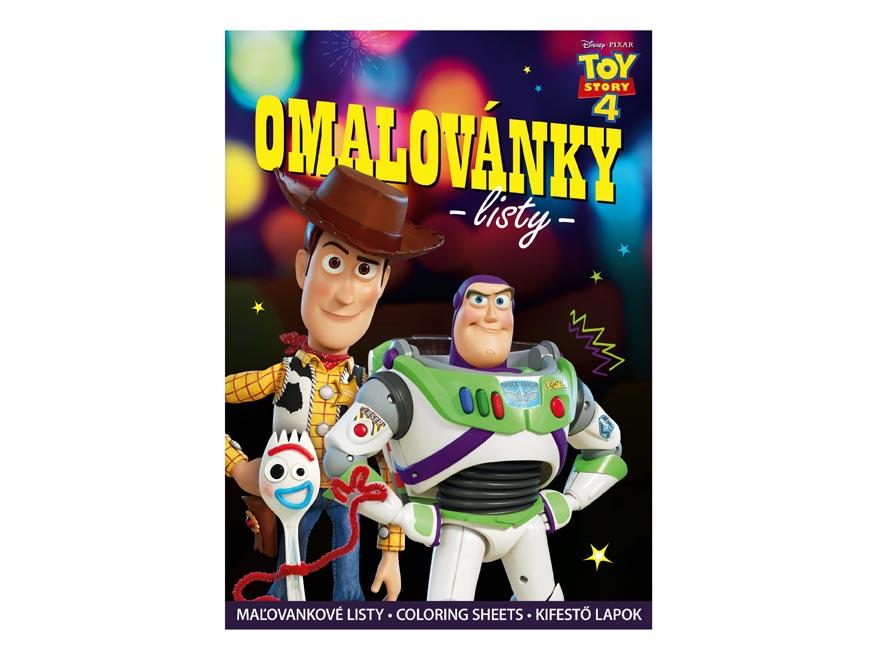 omaľovánky A4 Disney (Toy Story) 5301023