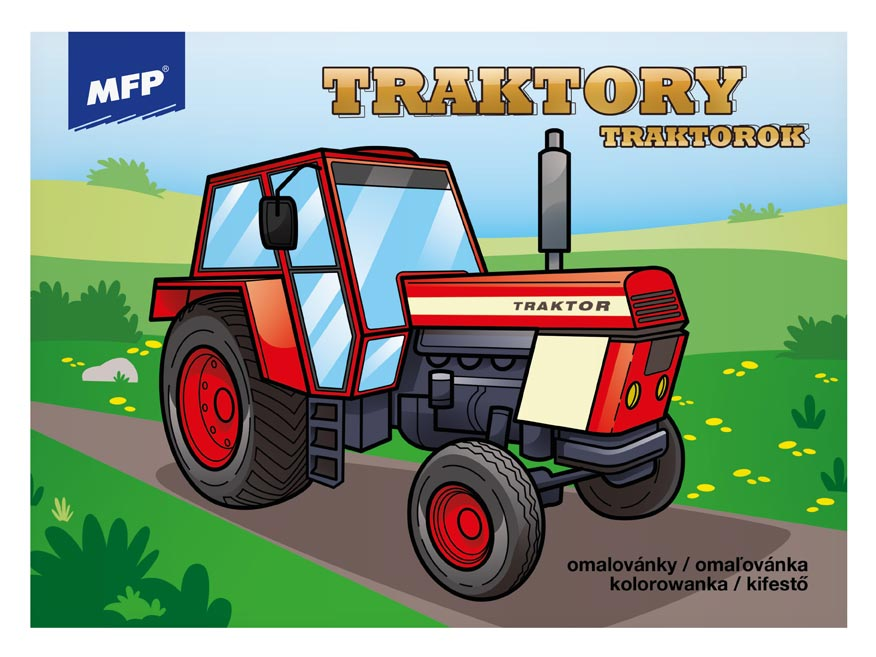 omaľovánky Traktory 5301039