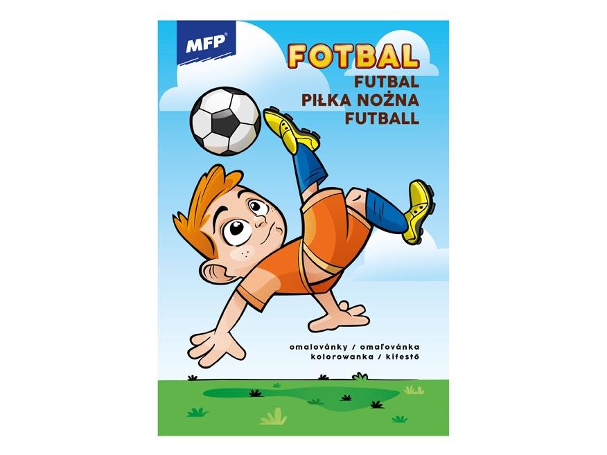 omaľovanky Fotbal 5301041